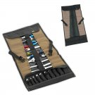 CLC 1173 32 Pocket Mechanics Wrench Ratchet Tool Socket Roll Up Pouch Bag