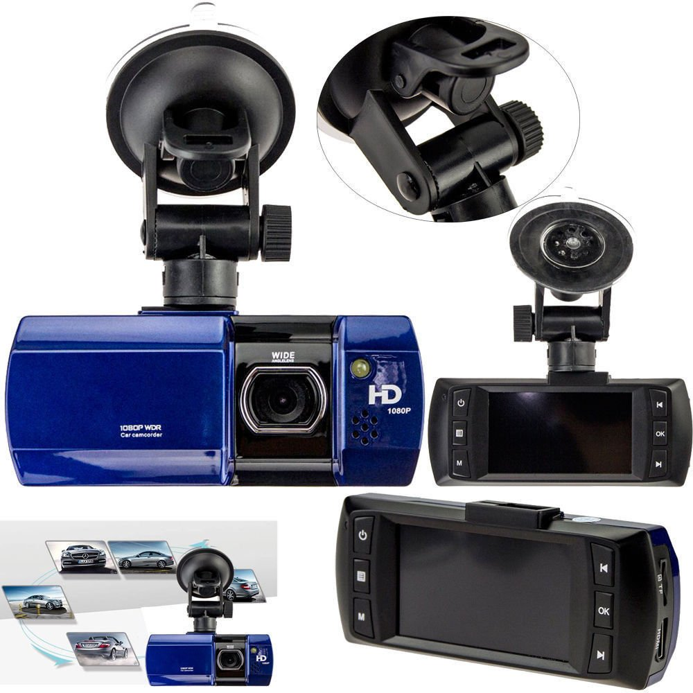 2.7 LCD HD Full 1080P Car DVR Dash Camera Video Recorder G sensor Night Vision