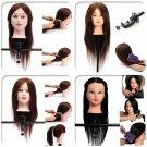 100 Hair 22 Salon Hairdressing Practice Training Head Mannequin Clamp