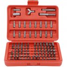 100 Pc Accessory Piece Drill Set Case 31639 Screw Bit Kit Awesome New