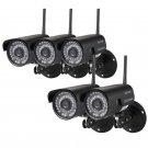 5X Sricam Outdoor Wireless Waterproof IR IP Camera Network Spy Cam Night Vision