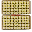 200X 18650 3.7V 5000mAH Rechargeable Li-ion Battery For LED Flashlight Yellow OY