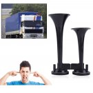 Modified 12V150db Truck Train Boat RV Super Loud Dual Trumpet Air Horn With Relay