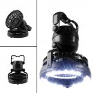 2X 2 in 1 Outdoor Latern Portable 18LED Tent Camping Light with Fan Hiking OY