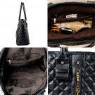 Women's Handbags Bags Leather Shoulder Tote Crossbody Bag Hobo Handbag Black