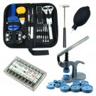 Watch Repair Tool Kit Case Opener Hand Remover Spring Bars Case Press