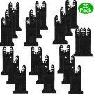 20PCS Oscillating Multi Tool Saw Blade For Fein Multimaster Dremel Makita BoschY
