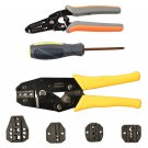 Professional Cable Wire Terminal Crimper Plier Ratcheting Crimping Tool KitJ7L9Y