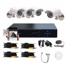 1 4CMOS 4CH 960H DVR Outdoor 1200TVL IR Home Surveillance Security Camera System