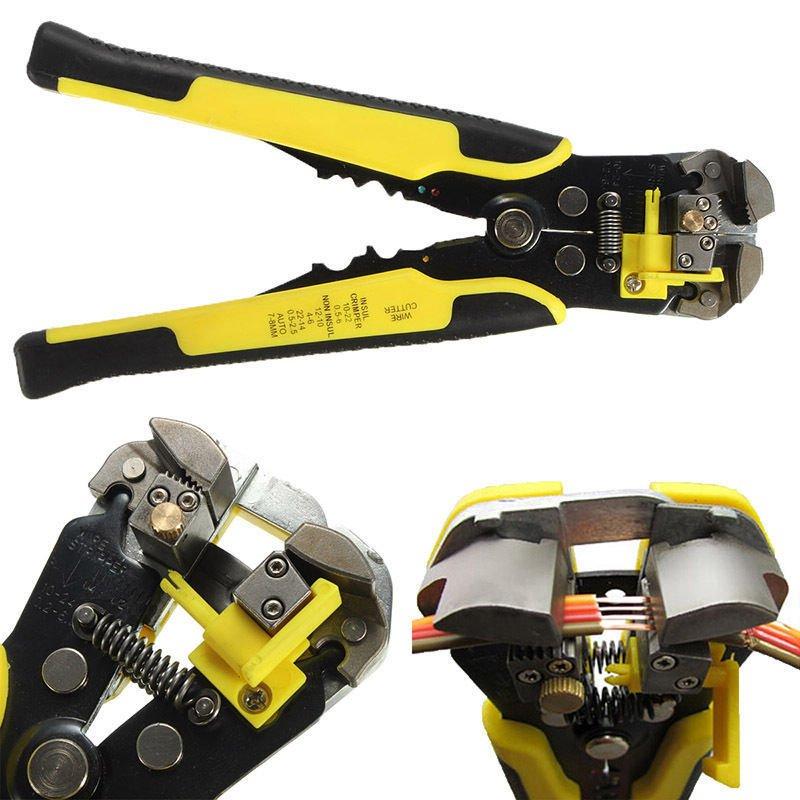 Professional Automatic Wire Striper Cutter Stripper Crimper Pliers TerminalTool