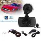 2.7 1080 HD Dual Lens Front Rear 6IR Car DVR Video Recorder G Sensor Dash Cam BB