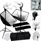 Studio 2000w Video Photography Softbox Stand Continuous Lighting Kit OY