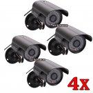 4 X 1200TVL HD Outdoor CCTV Surveillance Security Camera 36IR Day Night Video UY