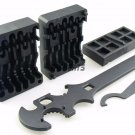 4 Combo 223 556 Upper & Lower Vise Block & Wrench  Armorer's Tool Kit