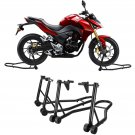 Motorcycle Stand Red Front and Rear Swingarm Spool Wheel Lift Universal Bike OY