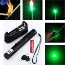 Military 532nm 5mw 301 Green Laser Pointer Lazer Pen Burning Beam 18650 Charger