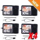 4Pcs Flysky FS GR3E AFHDS 2.4G 3CH Receiver for GT3B GT2 GT3C Transmitte