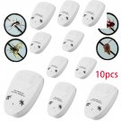 10 Ultrasonic Electronic Indoor AntiMosquito Rat Mice Pest Bug Control Repeller