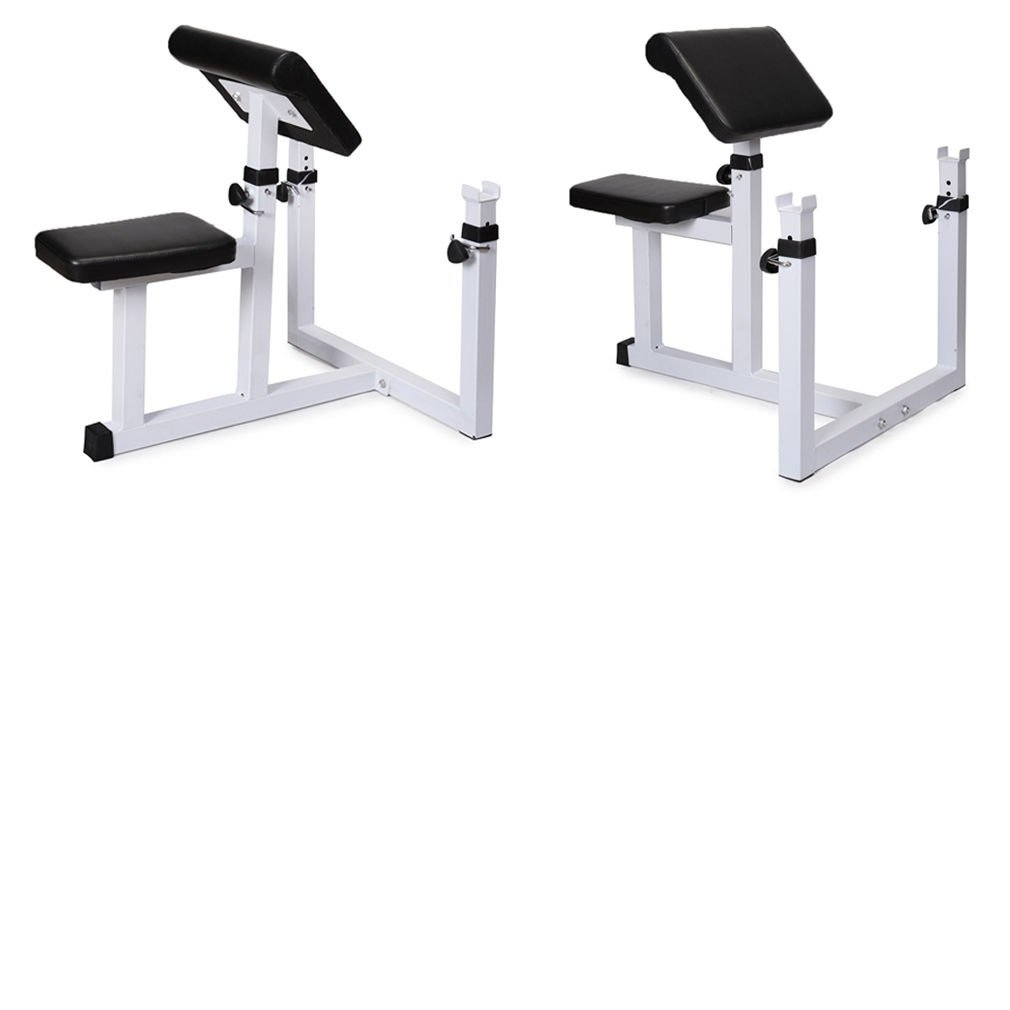 Commercial Preacher Curl Weight Bench Seated Preacher