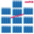 100pcs 3.7V 1200mAh 14500 AA Size ICR Li-ion Lithium Rechargeable Battery  OY