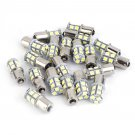 20X 7000K White LED 1156 RV Camper Trailer 1141 1003 Interior LightBulbs 13SMD Y