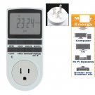 Plug in 7 Day 1224h AC Digital LCD Programmable Timer Switch Socket