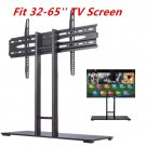 Universal Tabletop TV Stand Pedestal Base Wall Mount for 32-65 CD LED Tvs OY