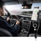 USB Port Dual Car Charger Smartphone Mount Holder for Smartphones