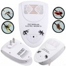 4 x Ultrasonic Electronic Indoor Anti Mosquito Mice Pest Bug AC Wall Repeller
