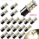 20X7000K White LED 1156 RV Camper Trailer 1141 1003 Interior Light Bulbs 13SMD