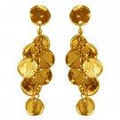 Earrings MANON, Medallion Discs Chandelier Earrings, Karine Sultan