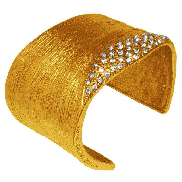 Bracelet ALEXIA, Wavy cuff, Karine Sultan