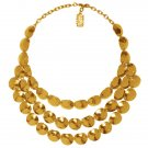 Statement Necklace LUCIE,  Three Rows, Karine Sultan