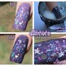 'aurora' heat reactive colour change acrylic