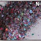 'nebula' glitter mix
