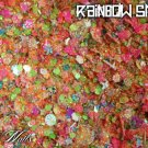 'rainbow smash' glitter mix