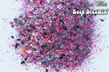 'keep dreamin' glitter mix