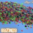 'bazinga' glitter mix
