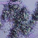 'lavender smash' glitter mix