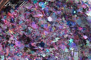 'heart throb' glitter mix