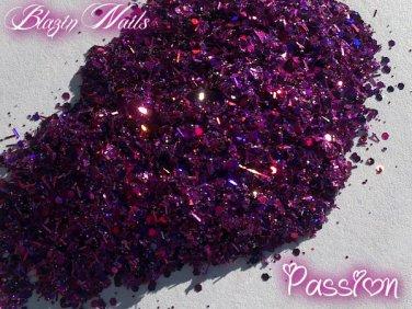 'passion' glitter mix