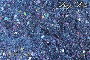 'velvet love' glitter mix