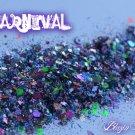 'carnival' glitter mix
