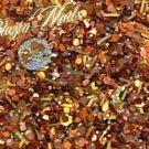 'bronze me up' glitter mix