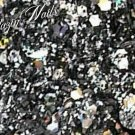 'gunmetal' glitter mix