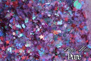 'pure' glitter mix