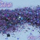 'celeste' glitter mix