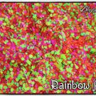'rainbow aura' glitter mix