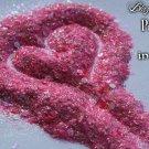 'pretty in pink' glitter mix