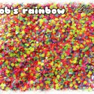 'jacob's rainbow' glitter mix